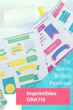 Te comparto estos banners para tu Diario Biblico para que los descargues GRATIS y los imprimas.