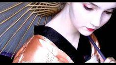 Geisha/Maiko Makeup Tutorial, via YouTube. more explanation and on a western face