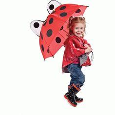 Ladybug Umbrella for Kids for only $12.99