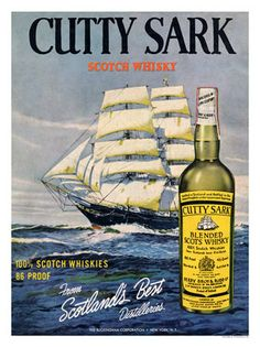 AP1288K - Cutty Sark, Whisky Advert