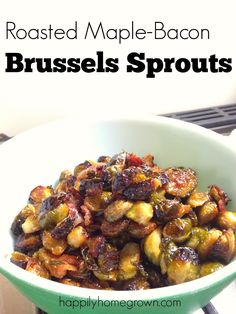 Need a delicious side dish? This recipe for Oven Roasted Maple Bacon Brussels…