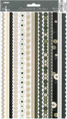 Tarranauha Glitter, Musta/ruskea lajitelma