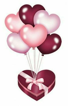 balloons - Page 10 - Hochzeit - balloons, png, tube - Happy Birthday Wallpaper, Happy Birthday Images, Happy Birthday Celebration, Happy Birthday Greetings, Flower Phone Wallpaper, Heart Wallpaper, Birthday Frames, Heart Balloons, Happy B Day