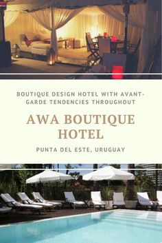 The Awa Hotel is a contemporary boutique hotel with a minimalist theme and a design style at the forefront of its concept.For those looking for Argentina holidays with a modern feel,this well designed hotel, located in one of the nicer avenues of Punta del Este, creates an intimate atmosphere using different textures and materials is the perfect destination.
