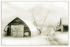 The Rural Winter. Landscape. Nellie Vin. by Nellie Vin, via Flickr