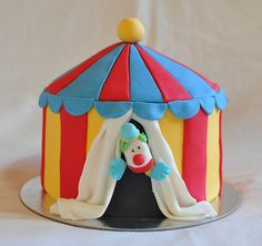 carnival ticket booth cake | Carnival Tent Cake