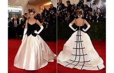 Sarah Jessica Parker in Oscar de la Renta 2014