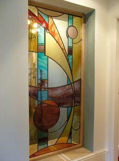 Hallway picture window