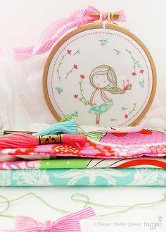Children decor Embroidery patterns & Childrens by TamarNahirYanai