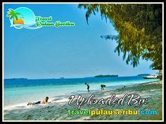 Alam Pulau Seribu yang bagus, membuat para wisatawan seakan berada di Surganya Kota Jakarta.Sehingga para Wisatawan Merasakan Senang di Pulau Seribu. #pulauseribubagus