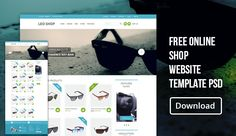 Today we are Giving Away a Premium Quality Free Online Shop Website Template PSD. This is a Complete and Beautiful free E- Commerce Website Template. After a short vacation