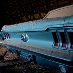 Beautiful, Priceless Cars Found Abandoned in Barns