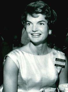 Jackie in 1954! Pretty smile!