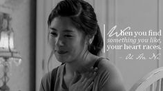 When you find something you like your heart races ~ Oh Ha Ni ~Playful Kiss