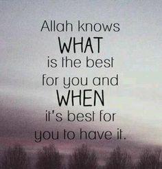 Trust in Him! #Allah #Islam #Quotes