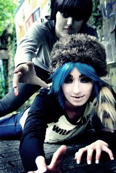 GoRiLLaZ Mudz 2D Cosplay - Back from Plastic Beach by ~Hikarulein