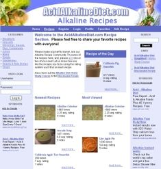 Alkaline Recipes « Alkaline Foods & Alkaline Diet