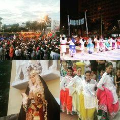 Fiestas d Ciudad Alta 2015 ! Lleno a reventar ... #Schamann  #Animarte #Fiesta #Party #Romería #Ofrenda