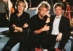 "The Police (1983) - foto from the tour program of ""Synchronicity""."