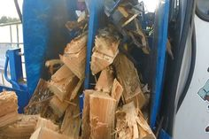 Northern Michigan In Focus Ryans Firewood Processing