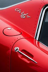 Car Featured Images - 1964 Iso Grifo 5300 A3C Drogo Coupe Emblem by Jill Reger
