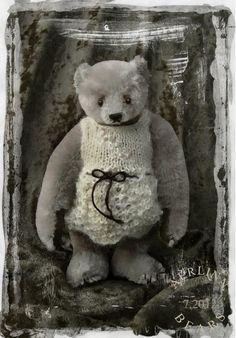 ٠•●●♥♥❤ஜ۩۞۩ஜஜ۩۞۩ஜ❤♥♥●   My Precious, Miniature mohair bear from Aerlinn Bears  ٠•●●♥♥❤ஜ۩۞۩ஜஜ۩۞۩ஜ❤♥♥●