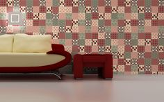 Vintage Brick 15x15