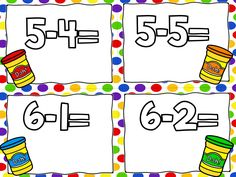 a freebie from Greg...subtraction smash!