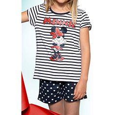 c17d5303a Aznar Innova Pijama Minnie Niña Talla 6  Juguetes y juegos  Disfraces y  accesorios