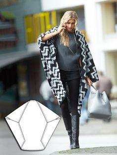 Draft-it-Yourself Diamond Jacket 11/2014 #116 – Sewing Patterns | BurdaStyle.com