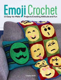 Emoji Crochet by Charles Voth! Perfect for teens!