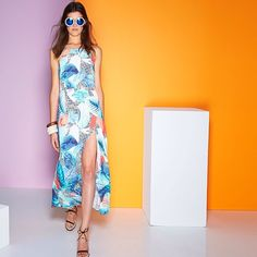 Miss it miss out! our High summer collection Between the Lines is selling out fast hop online or head to your nearest boutique or @davidjonesstore www.talulah.com.au #isla #highsummer #palmprint #maxidress