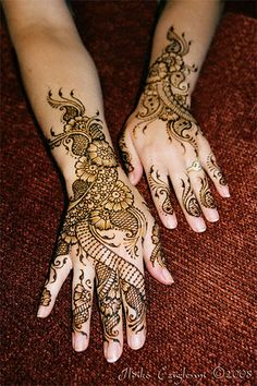 Henna is a beautiful and temporary way to add unique designs to your hands.