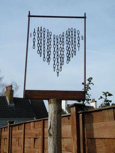 DIY Arts &  Crafts : DIY Valentine's Windchime