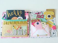 Outgoing mail packed with goodies