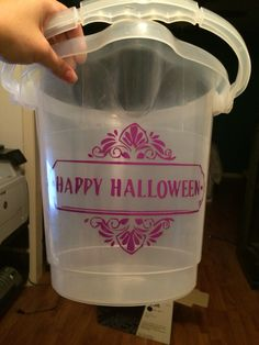Candy bucket!