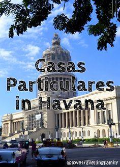 Casas Particulares in Havana, Cuba