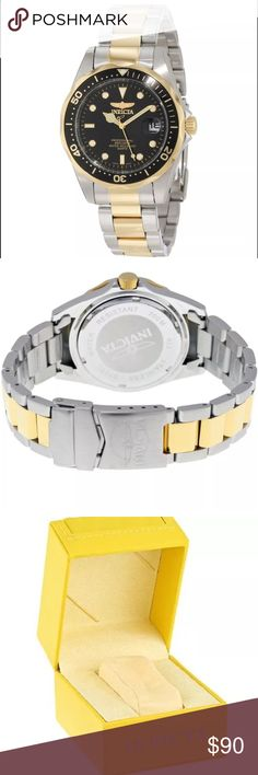 Invicta Mens Watch Classic Nautical Piece, this a stainless steel mens watch.          Will go up here for 90$, email me at luxhotsales@gmail.com for the link to my website where it will be at a discounted price of 59$! Invicta Accessories Watches