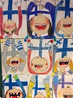 Suomijuhla Digital Art digital art apps for pc Primary School Art, Elementary Art, Art School, Art For Kids, Crafts For Kids, Arts And Crafts, Olympic Idea, Kindergarten Themes, Drawing Exercises