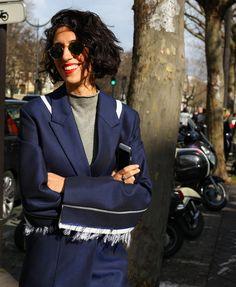 Yasmin Sewell in Round sunglasses @smartbuyglasses