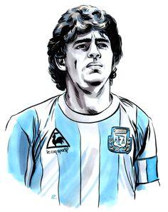 Diego Maradona, Agentina