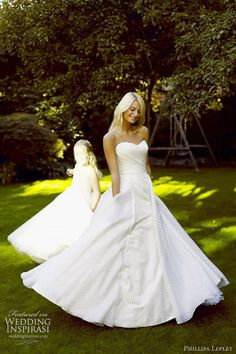 Luxury couture wedding dress design in London. Phillipa Lepley is known for style, elegance, balance and sophistication. Wedding Dress Gallery, Wedding Dresses 2014, Wedding Dress Styles, Designer Wedding Dresses, Bridal Dresses, Wedding Looks, Wedding Bride, Wedding Stuff, Cute Dresses