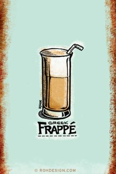 Greek Frappe by Mike Rohde