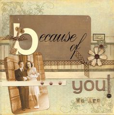 Scrapbooking a Heritage Album: Part 1...a series of 9 articles with wonderful information, design ideas and tips.