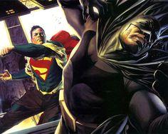 Top 9 times #Superman has trashed #Batman.