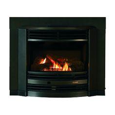 Rinnai Royale Inbuilt Gas Log Flame Fire