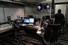 BBC MediaCity Tour  Building C  Radio Studios