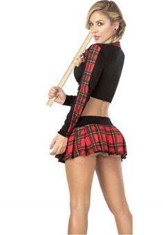 That Fantasy plaid skirt sex
