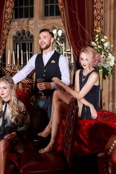 December 2015 Hensmans Christmas photoshoot featured in Image magazine