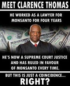 NO!! CONFLICT OF INTEREST!! GREEDY CORRUPT SUPREME COURT JUSTICE!!
